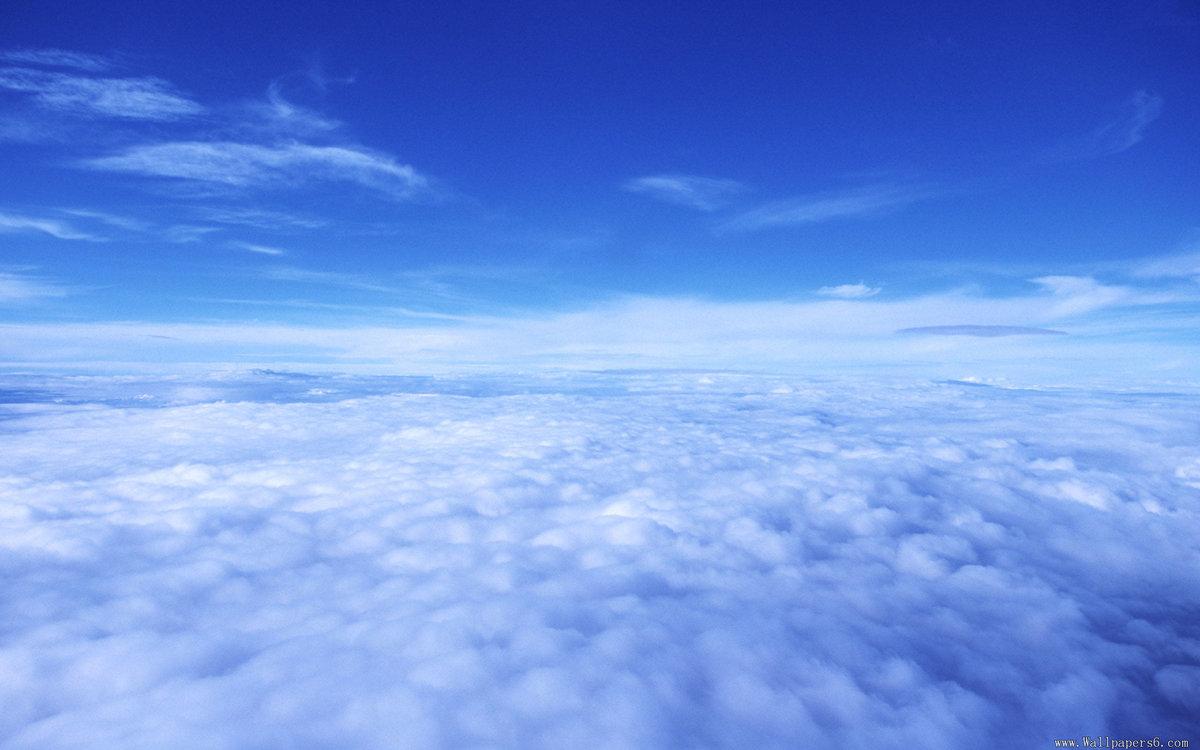 Живые днем, картинка небо и облака