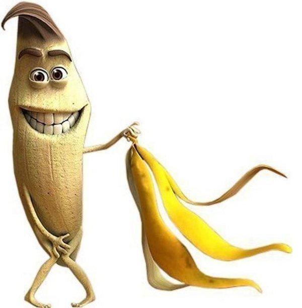 Смешная картинка банан, сталкера