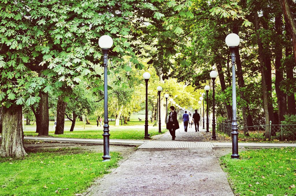 парки в таллине с фотографиями жив