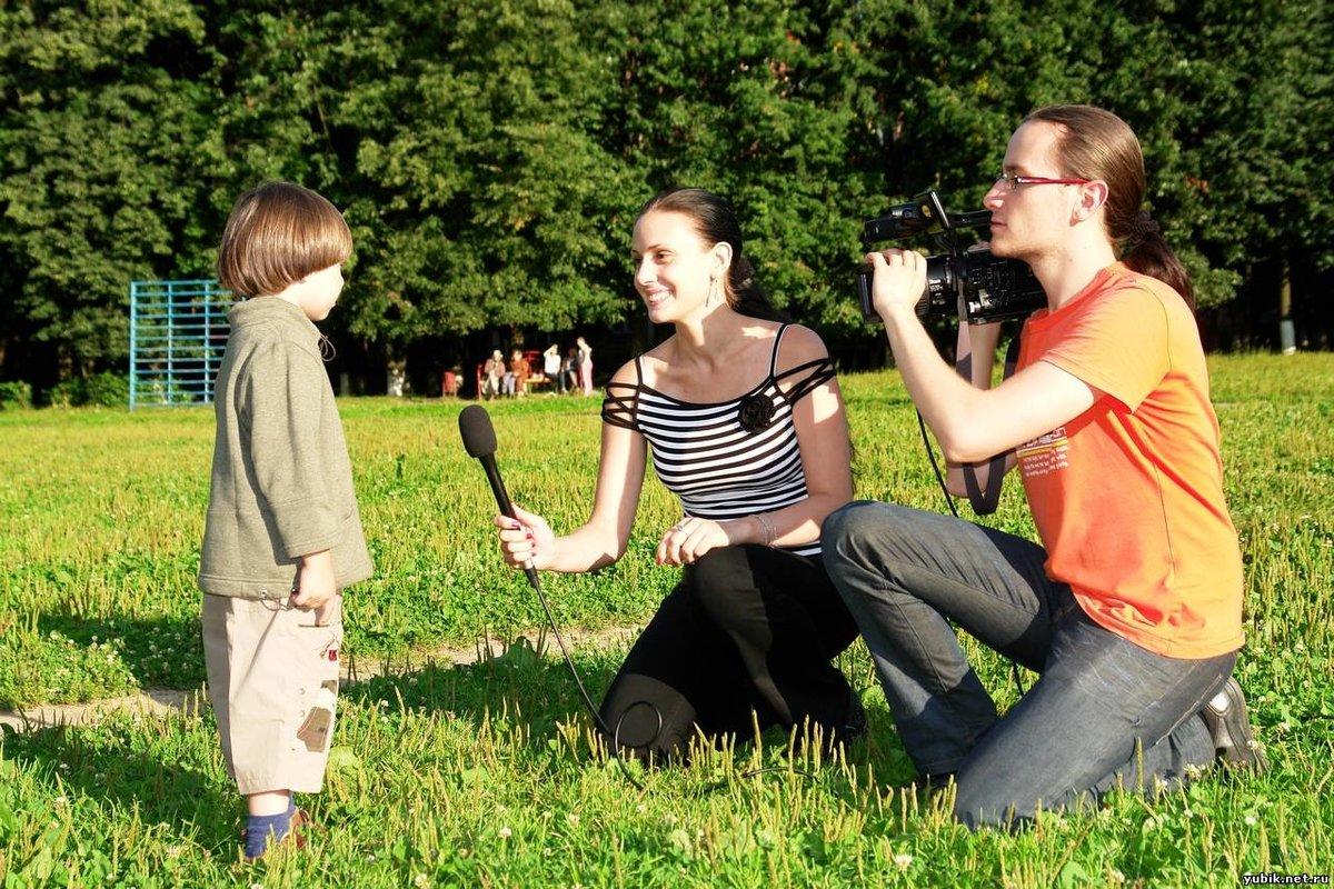 Интервью детей картинка