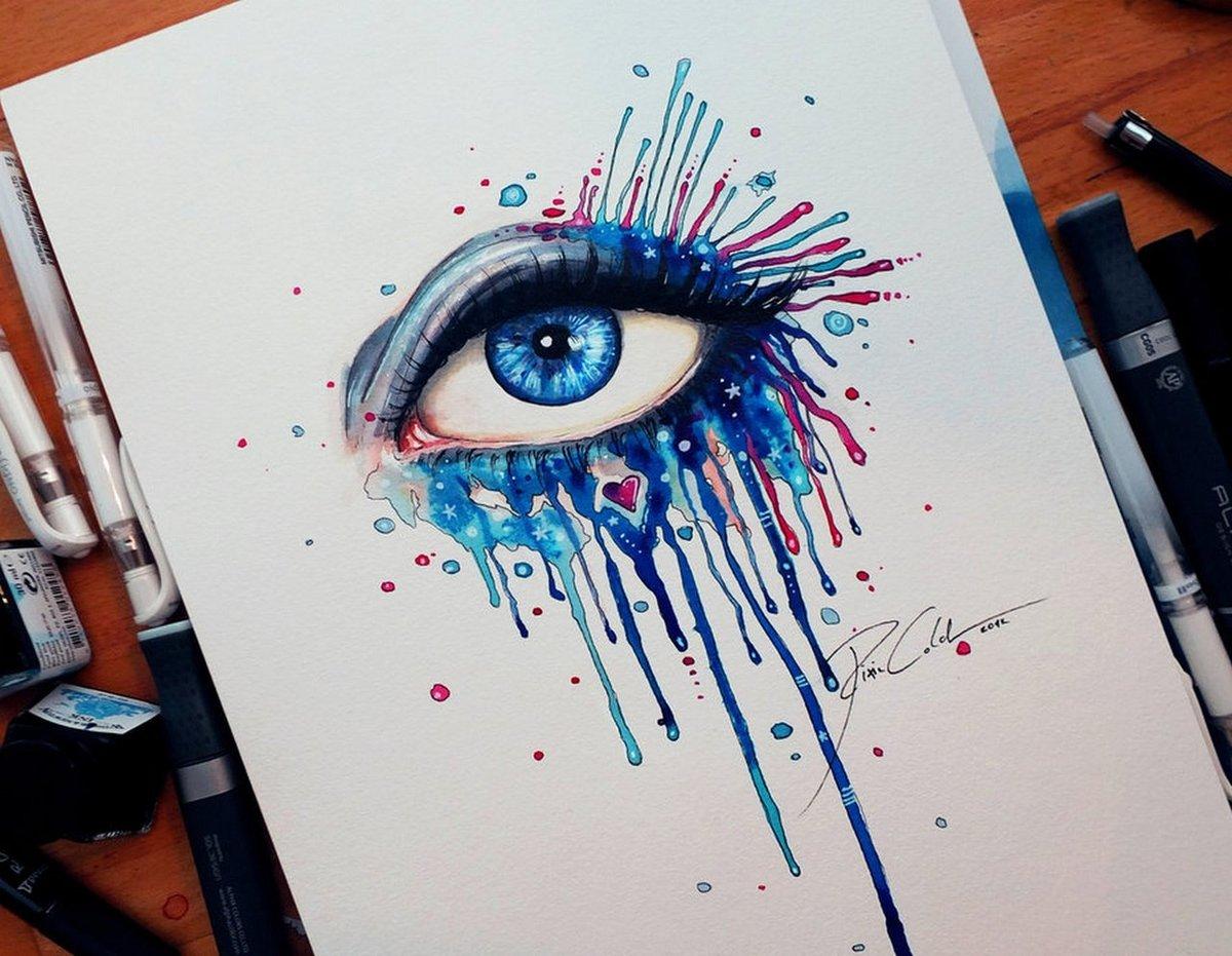 Крутые рисунки гуашью