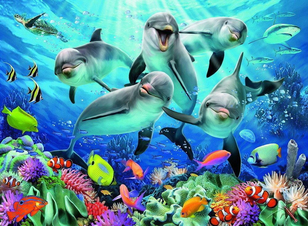Картинки подводного мира для детей