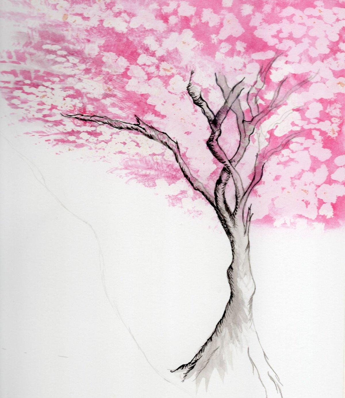 рисунки красивых деревьев действительно стал