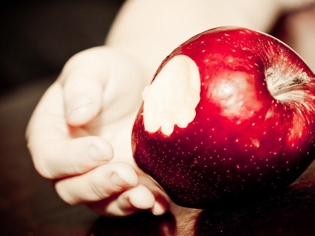 Яблоко как человек картинка