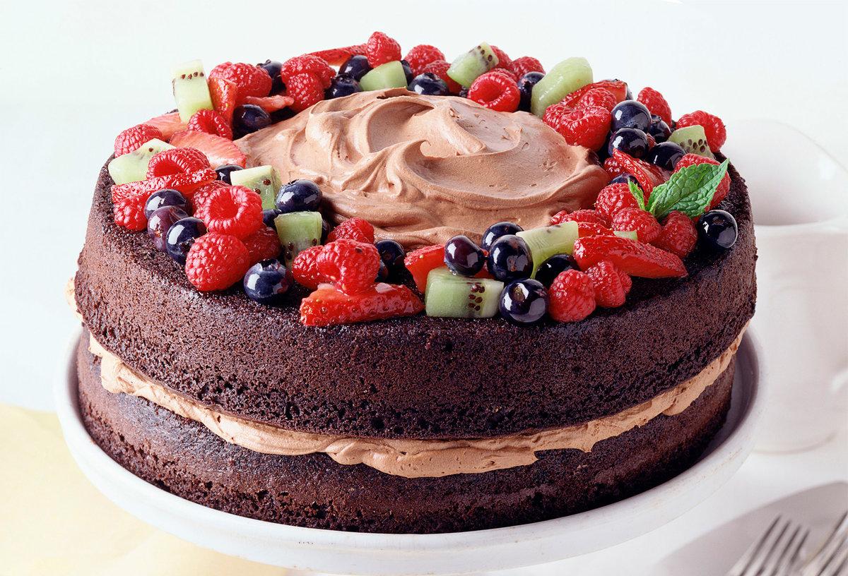 большие картинки про торты наносить часть узора