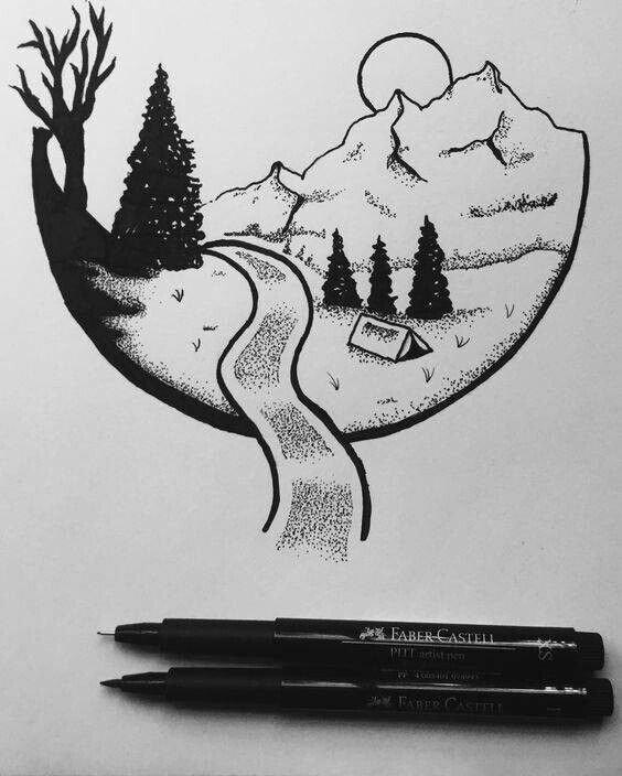 easy pen drawings best 25 easy pen drawing ideas on pinterest pen