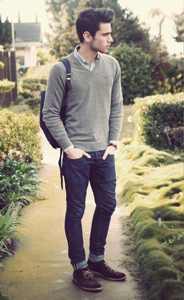 Teen boy teenager in all black clothing joe sexy