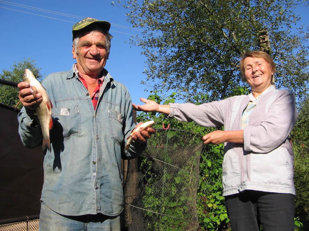 На рыбалке был я дед