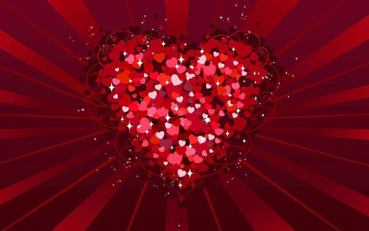 Картинки красивые сердечки