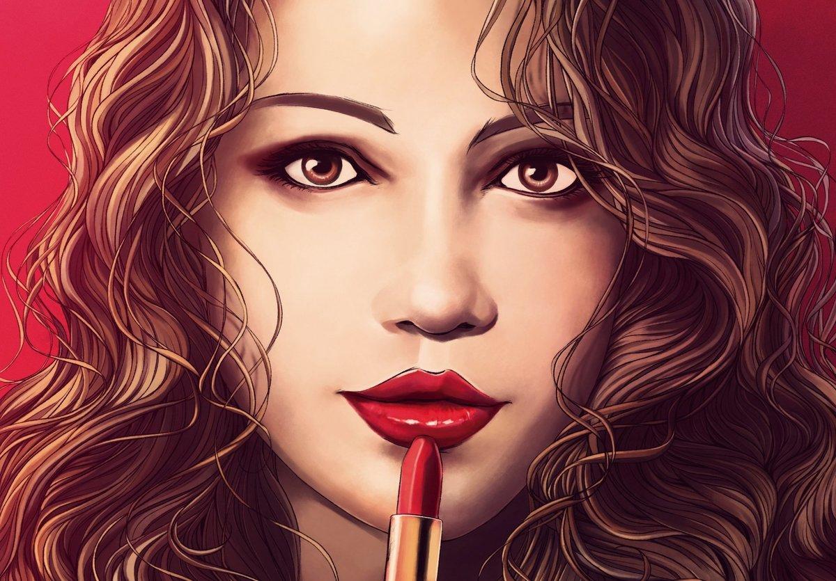 Картинки девушка красивые нарисованные