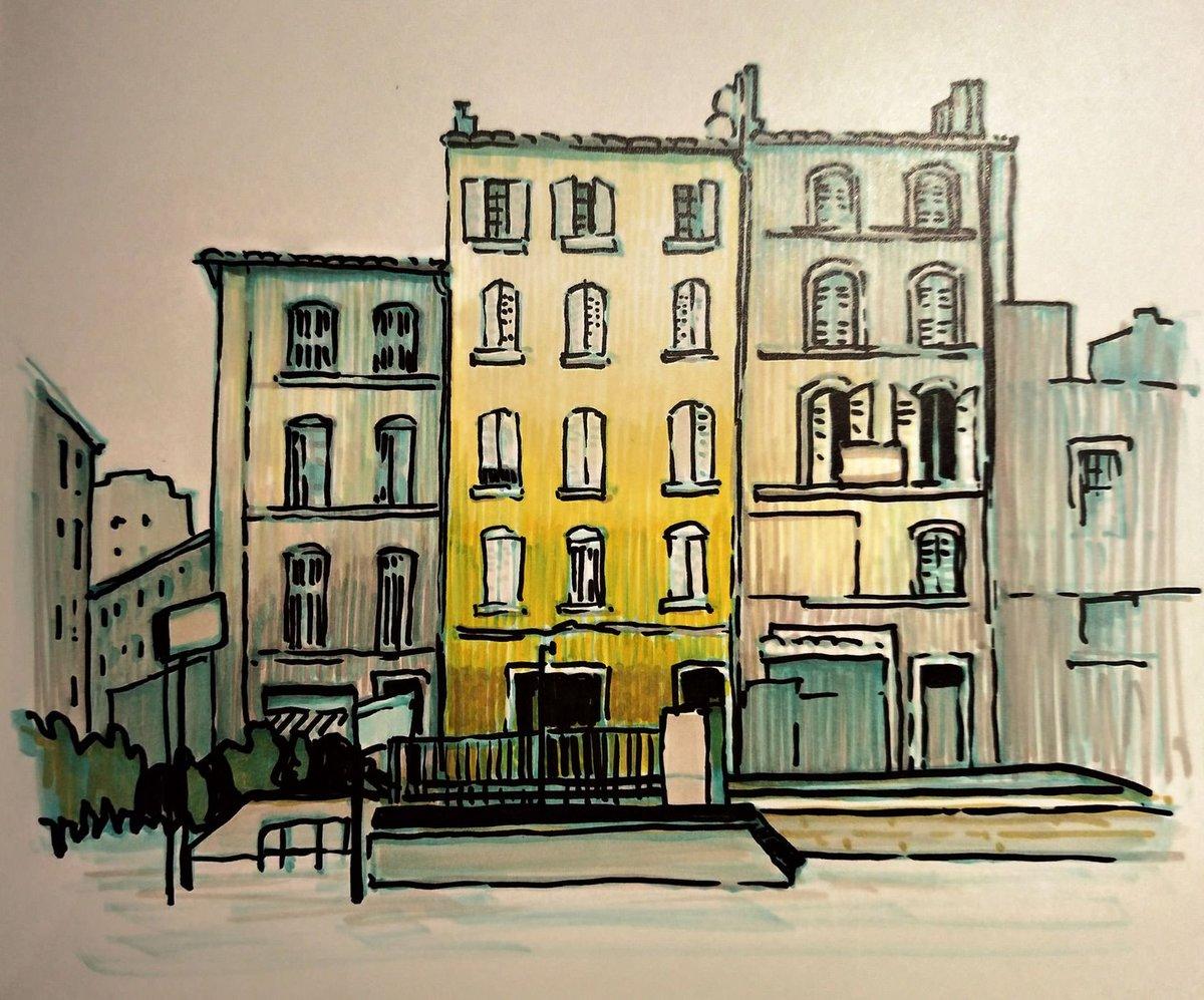 Фантастика город рисунок найти описание