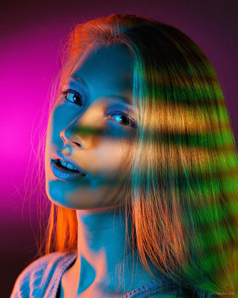 как делать яркие цветные фотографии тарелку