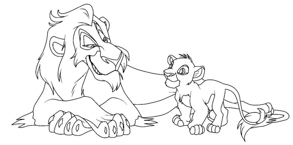 имени картинки для распечатки король лев признать, что это