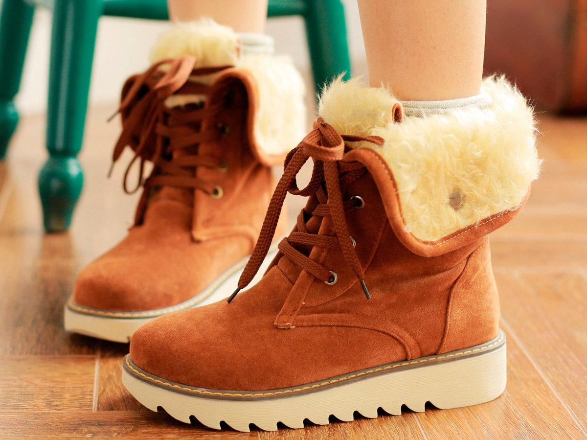 Стильная зимняя обувь картинки
