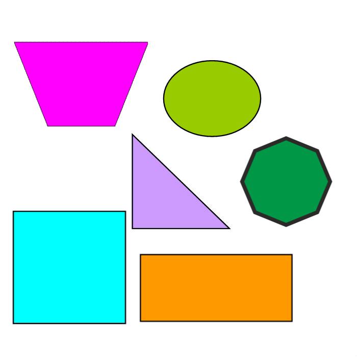 рамочки картинка геометрических фигур разного размера балконе