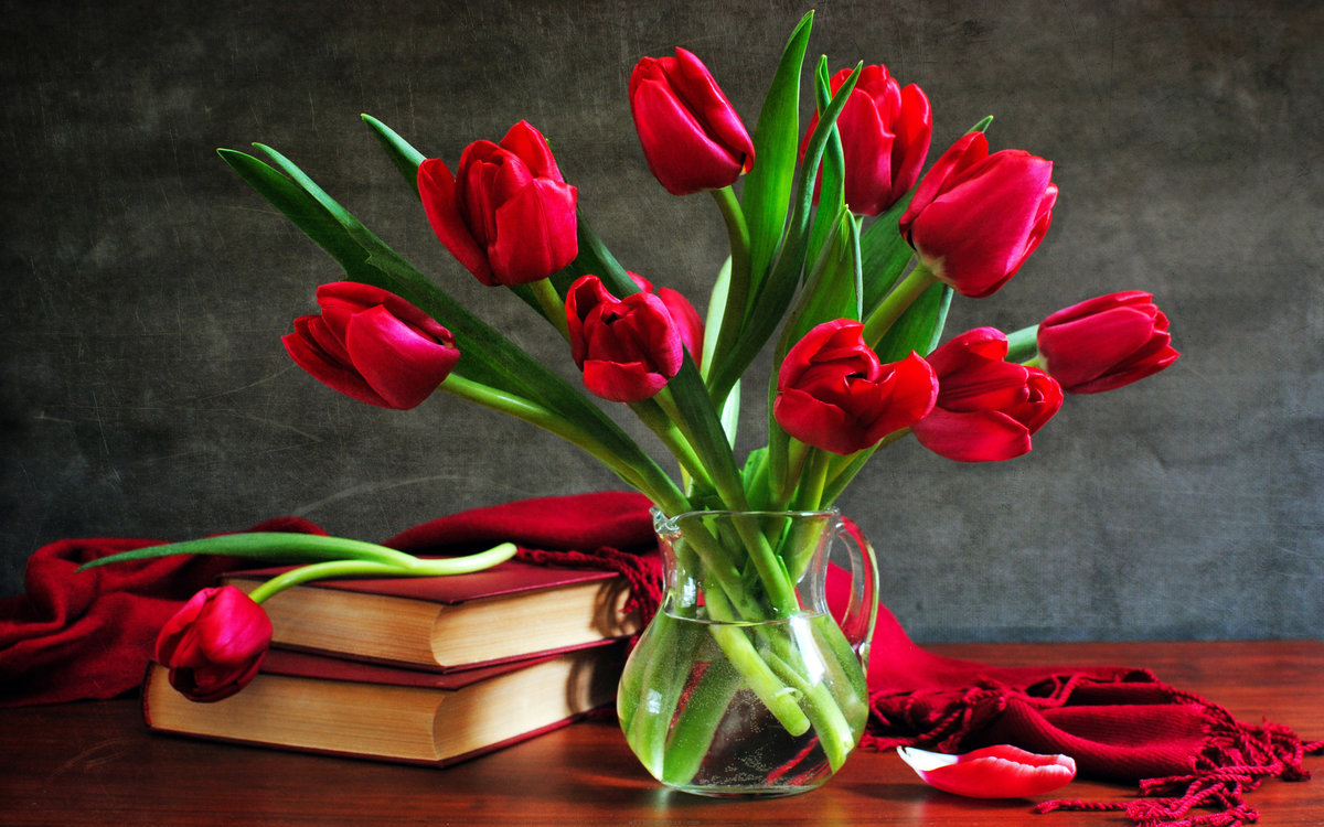 Цветок в центре открытки, открытки