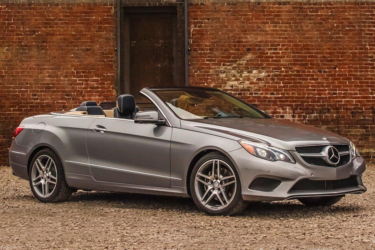 Mercedes-Benz E-Class: Maintenance