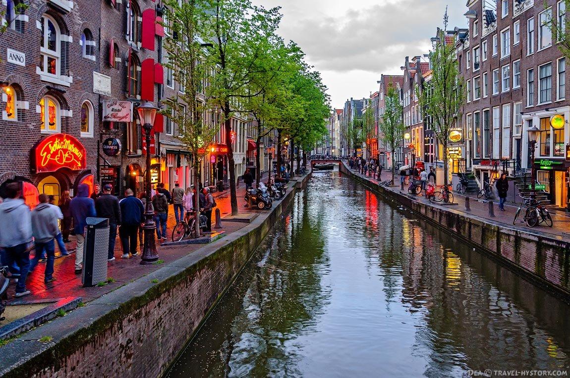 смотреть картинки амстердама ходячая