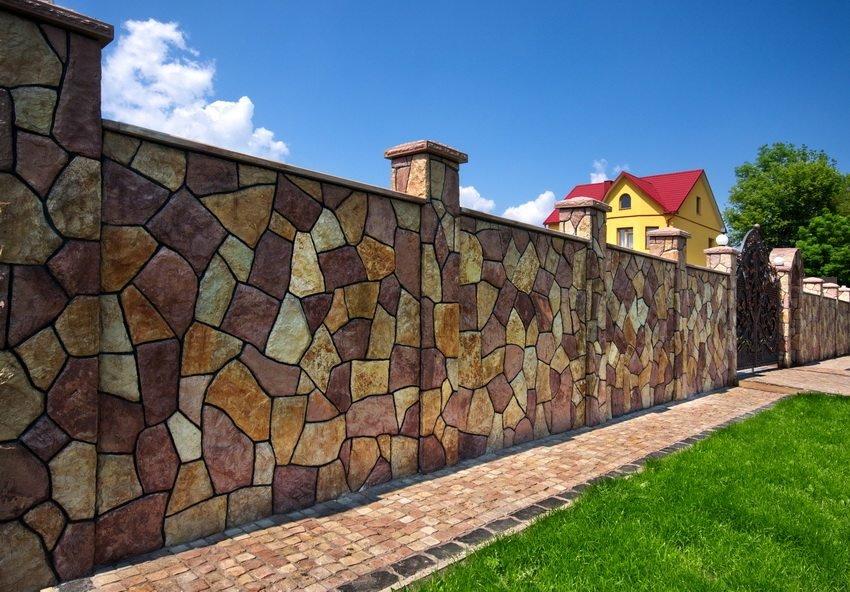 виды декоративных бетонов