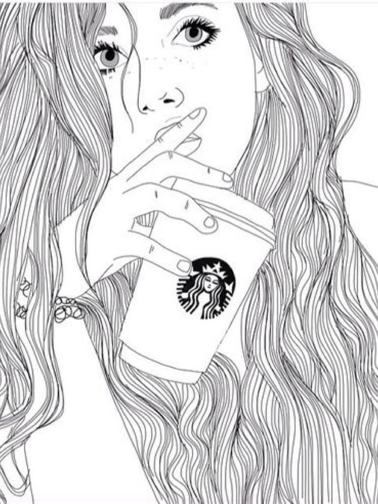Картинки для девочек 18 лет срисовки