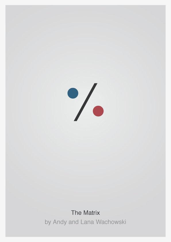 Фильмы постеры минимализм