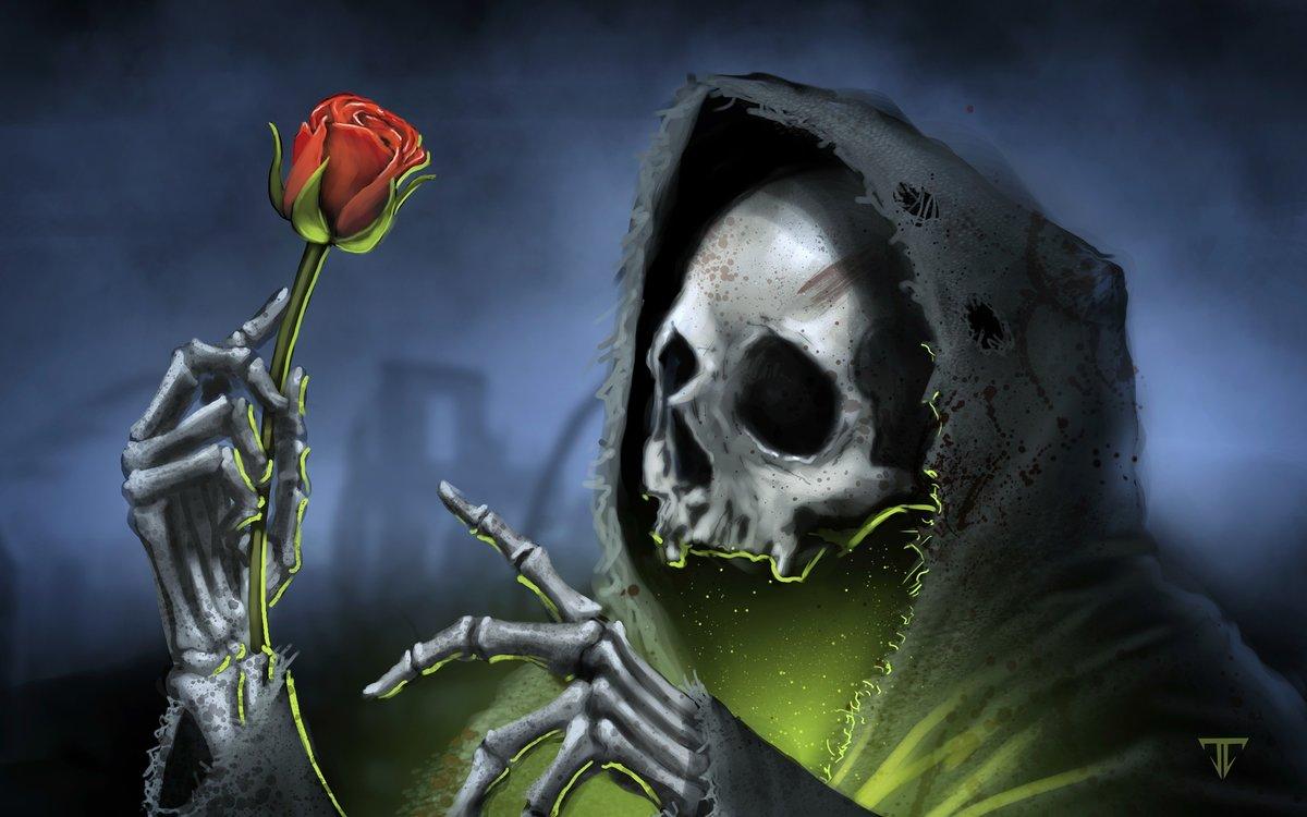 Надписью помоги, картинки скелеты красивые с розой