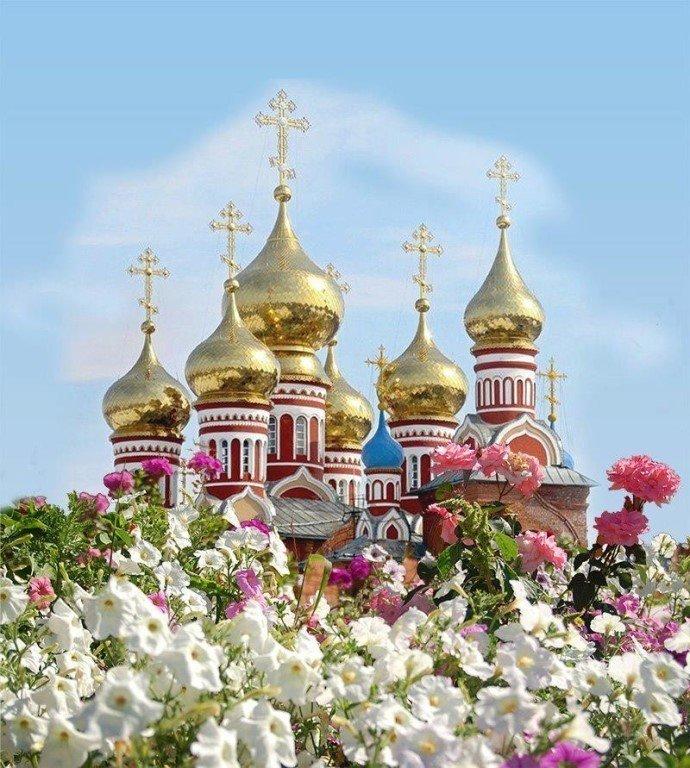 Храм на открытках, открытка