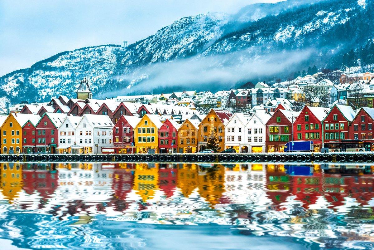 Картинки город норвегия