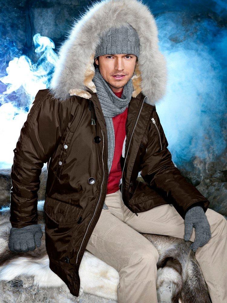 Мужчины в зимней одежде фото