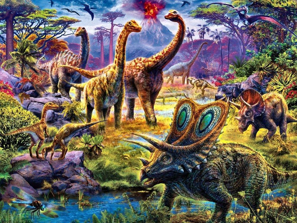 Эпоха динозавров картинка
