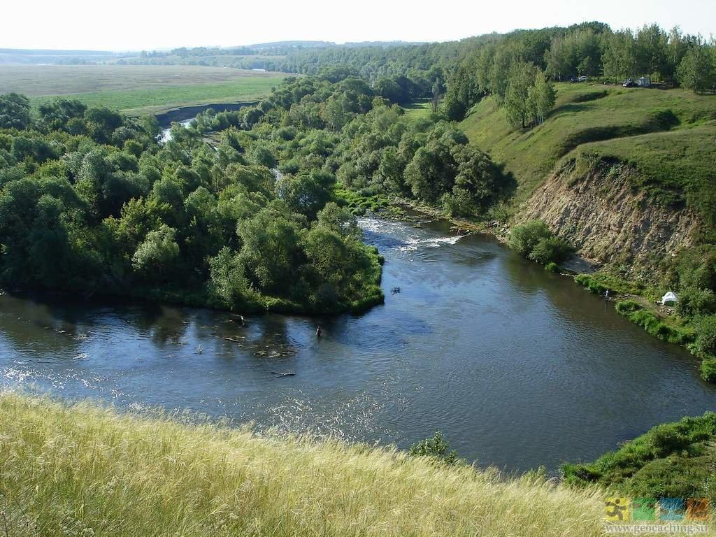 Тульская область река красивая меча рыбалка