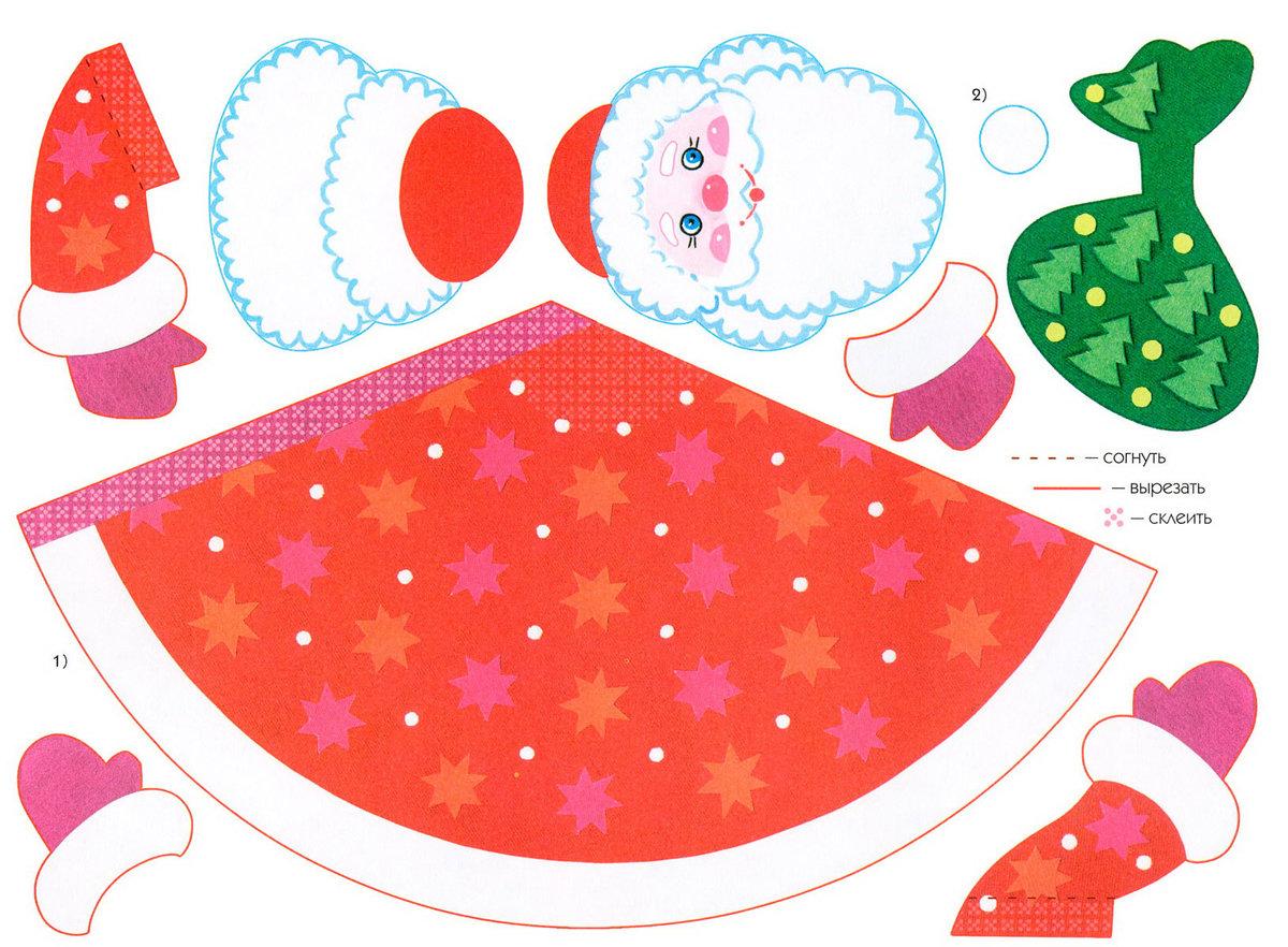 Конус из цветной бумаги шаблоны кухня сформировалась