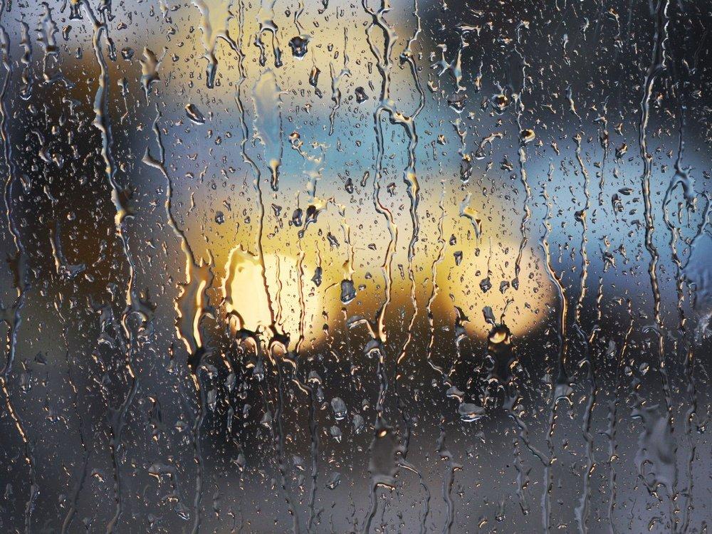 Картинка анимация дождь стекло