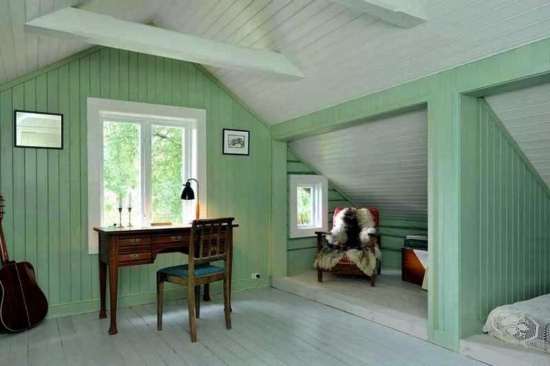 тех покраска вагонки внутри дома картинки после
