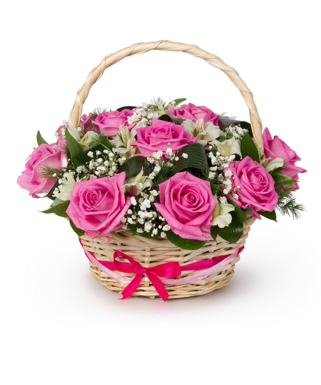 Корзины цветы по оптовым цене саратов, деко букеты цветов