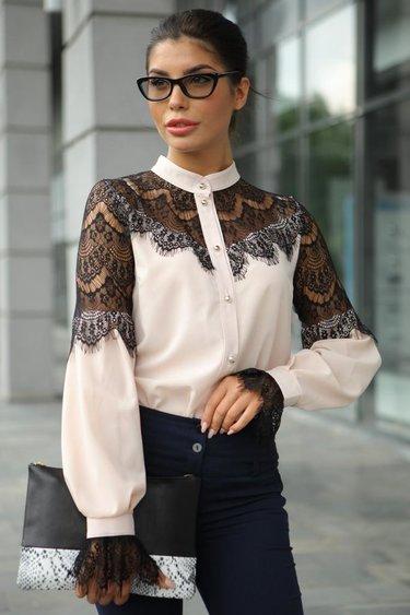 544c67f4eba 43 карточки в коллекции «Женская блузка с пышными рукавами  образы ...