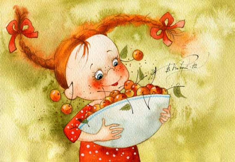 Рыжая девчонка смешные картинки