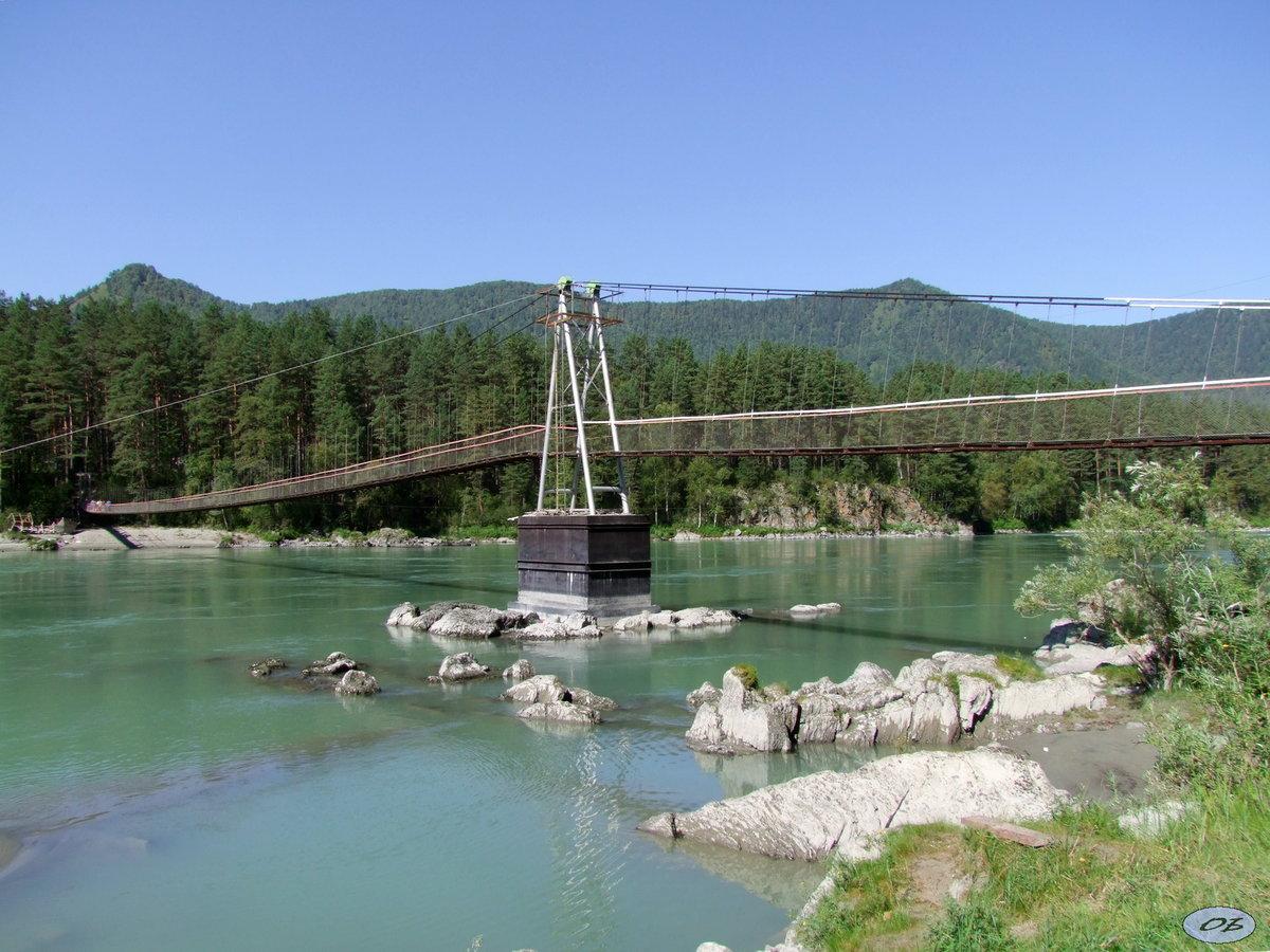 Фото красный мост в москве вид залитого