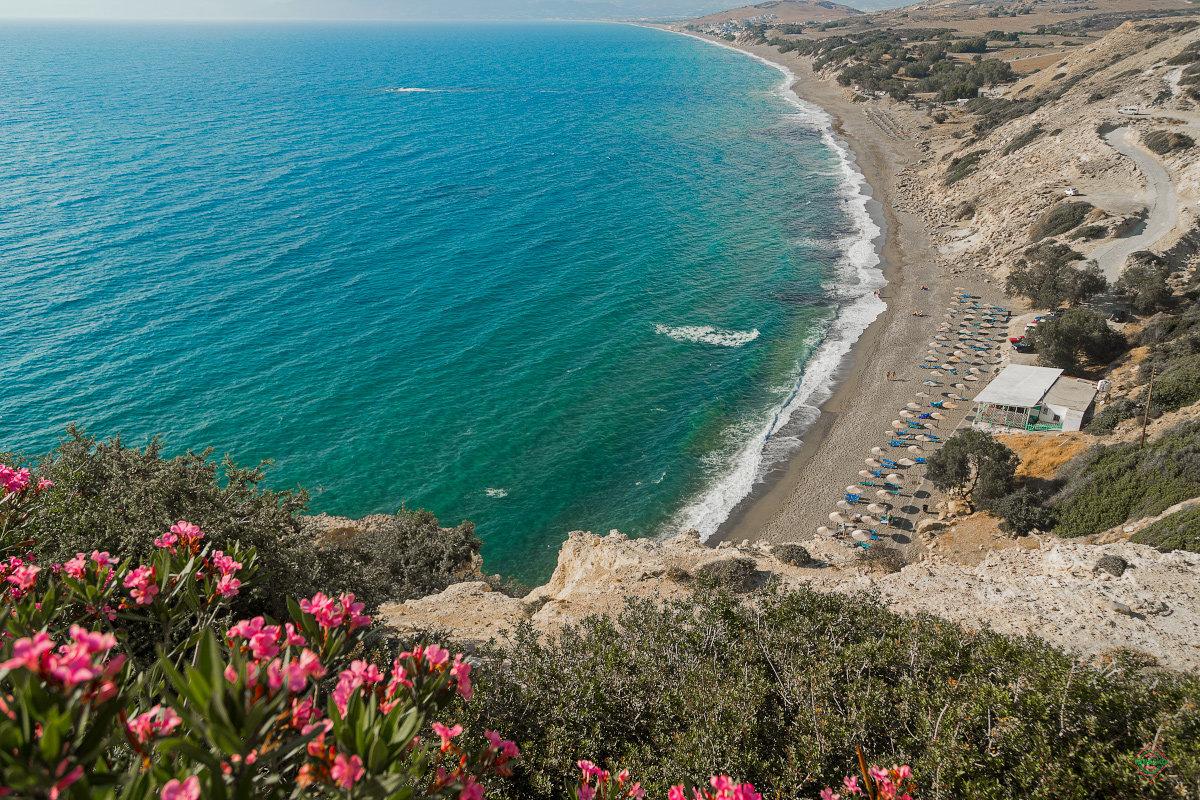 небольшой природа и пляжи на крите фото очень