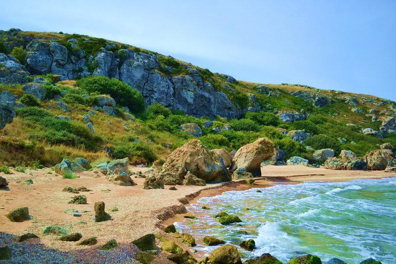 отдых крым дикий пляж фото той