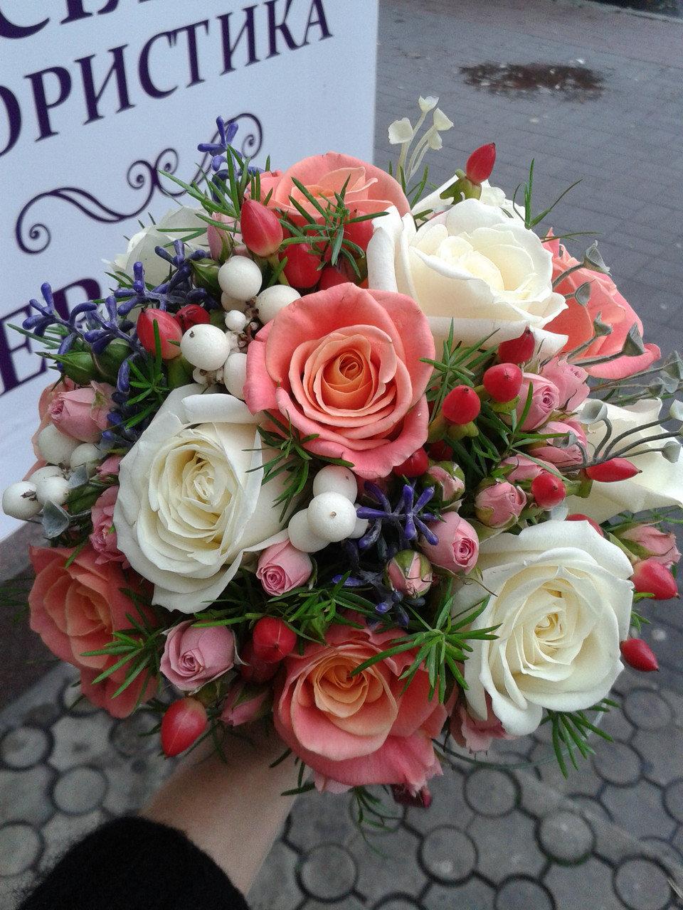 Роз перми, заказ свадебный букет в донецке