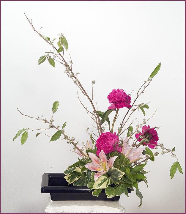 Букеты цветов, японский букет название