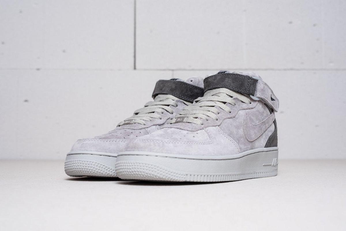 f962d765 RU Купить недорогие кроссовки Nike Air Force 1 серого цвета в  интернет-магазине WERAN.RU