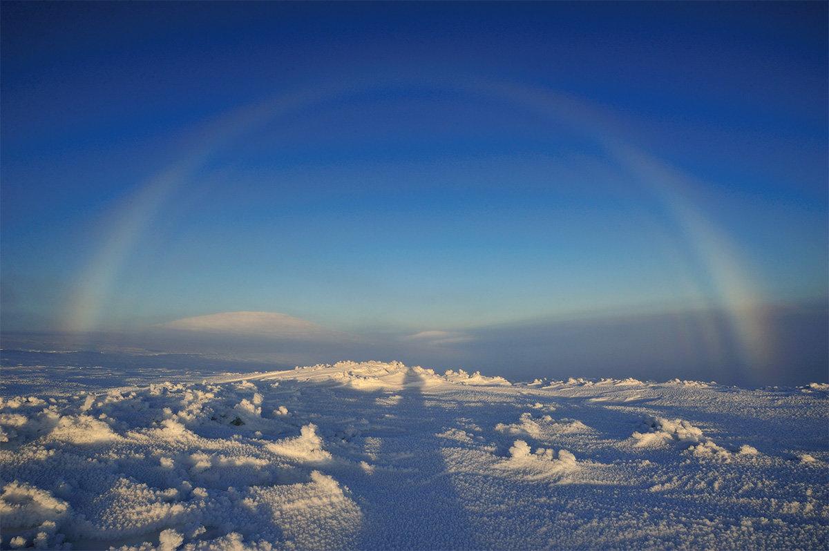 картинка радуга зимой обыватели знают