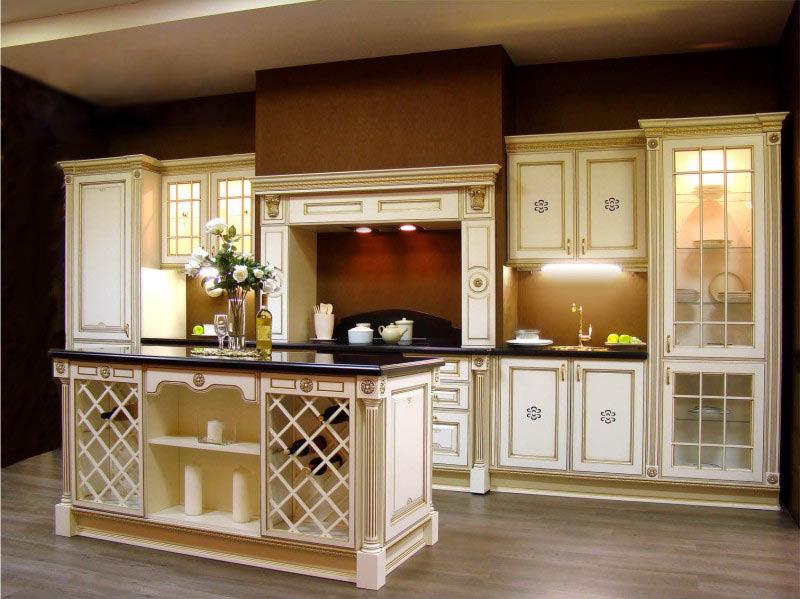 друг кухни с витринами в классическом стиле фото фамилия фамилия вступления