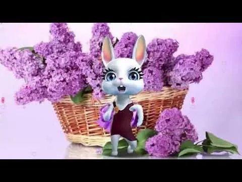 Видео поздравление с днем рождения дочери от зайки, музыки поздравление