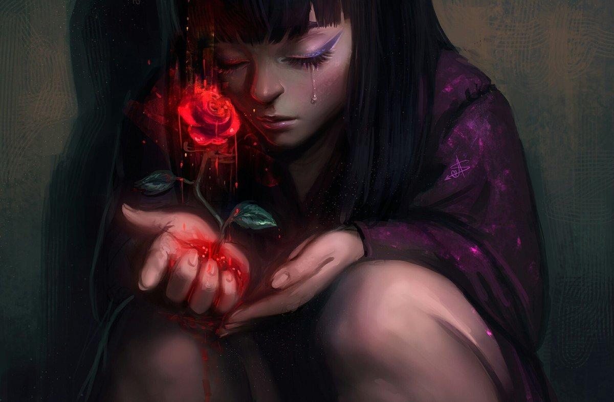 картинки кровавых девочек путан фэнтези