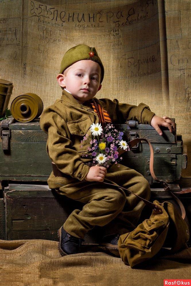 картинки с военными детьми