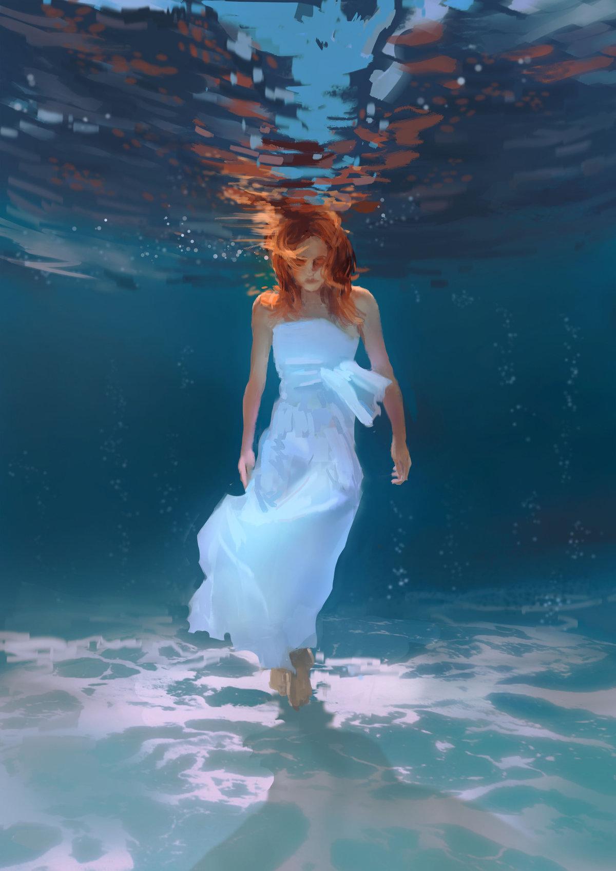 Рыжие женщины фото под водой, игры про мужской секс