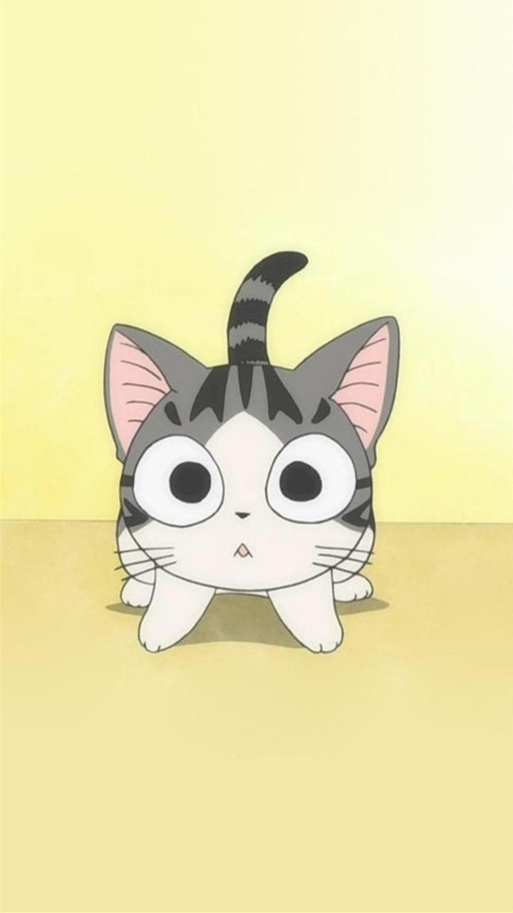 Смешные котики аниме, работа